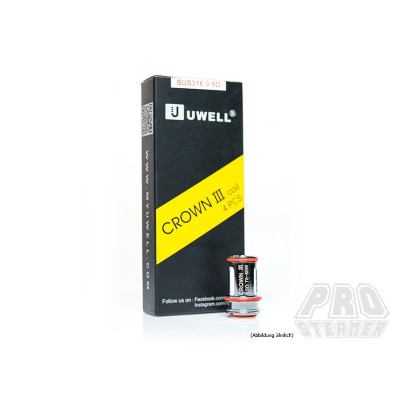 Uwell Crown 3 Coils Dual SUS316 - 0.5 Ohm