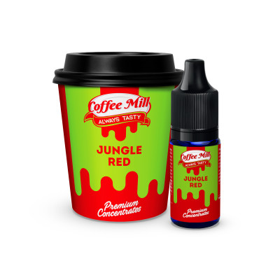 Coffee Mill - Jungle Red